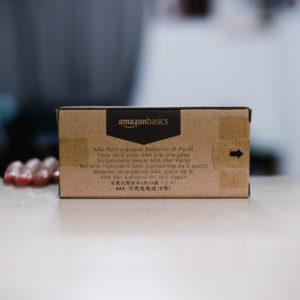 amazon basics 乾電池