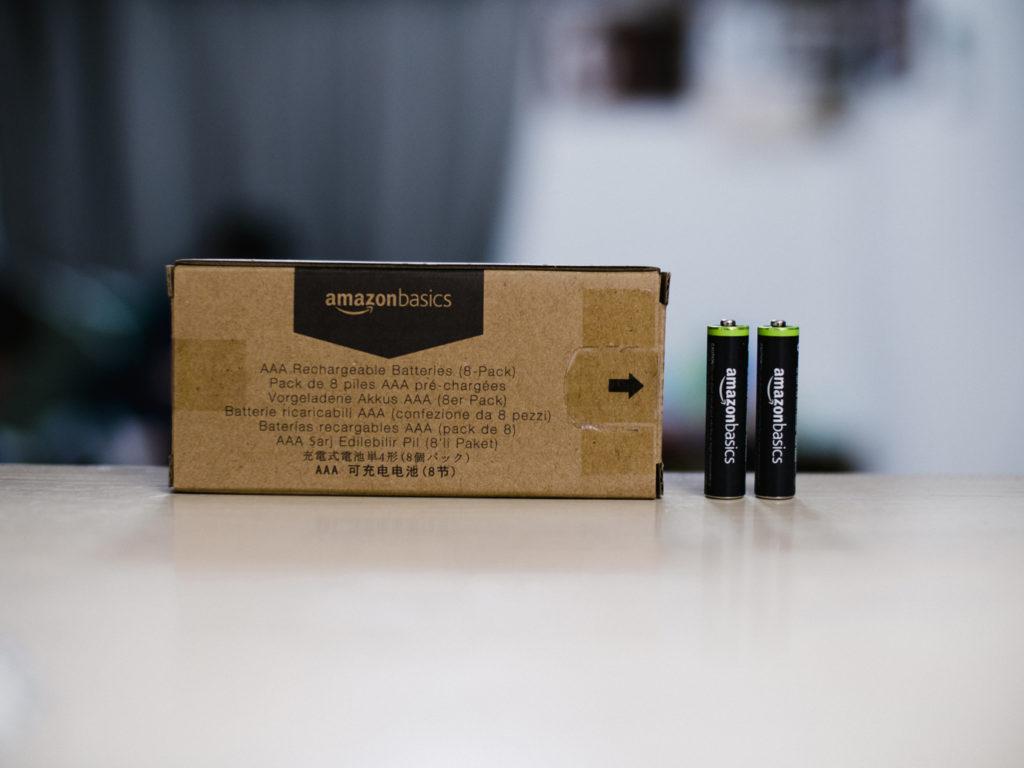 AMAZONBasics乾電池