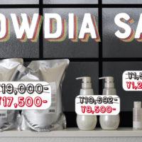 神楽坂の美容室kasaneのFLOWDIA sale 2018
